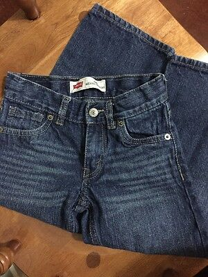 Levi's 549 Relaxed Straight Jeans Size 4T Adjustable waistband