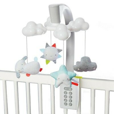 NEW Skip Hop Moonlight & Melodies Cloud Mobile Star Projector Lullaby Bedtime