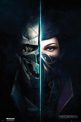 Dishonored 2 Faces Poster 61x91.5cm