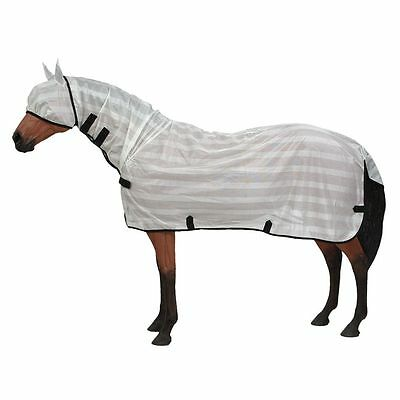 Tough-1 Contour Poly Fly Sheet w/Neck Cover Large (8084) White