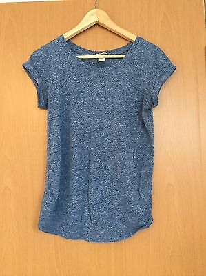 H&M Maternity Top Size S Blue
