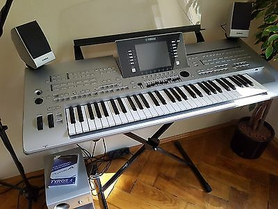 yamaha tyros 4 keyboard incl lautsprecher system trs ms04. Black Bedroom Furniture Sets. Home Design Ideas