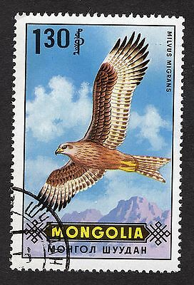 1970 Mongolia 1.30t Black Kite SG581 FINE USED R28708