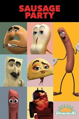 Sausage Party Characters Poster 61x91.5cm