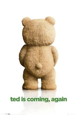 Ted 2 Is Coming. Again. Poster 61x91.5cm