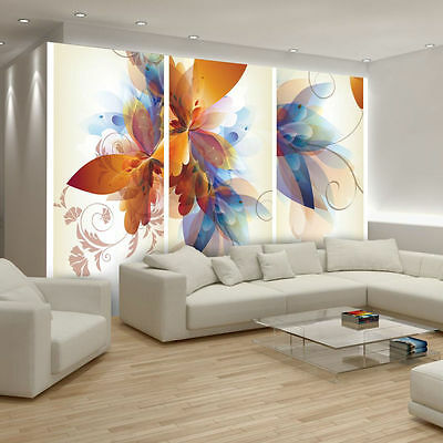 Photo Wallpaper FLORAL PATTERN Wall Mural (548VE)