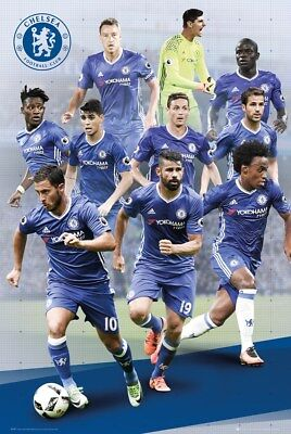 Chelsea FC Players 16/17 Poster 61x91.5cm