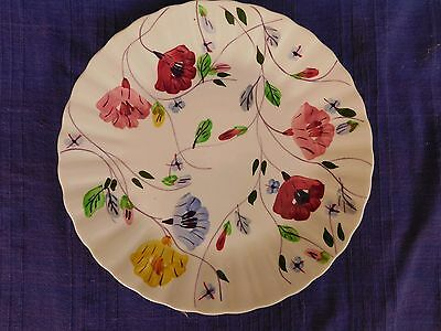 "Blue Ridge Pottery Chintz DINNER PLATE 10-1/2"" have more items set MULTI COLOR"