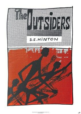 New The Outsiders S E Hinton Poster
