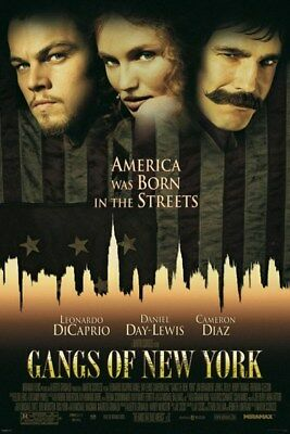 New Gangs Of New York Born in The Streets Poster
