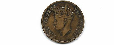 British honduras  1951 1 cent coin