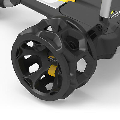 PowaKaddy Winter Wheels Black