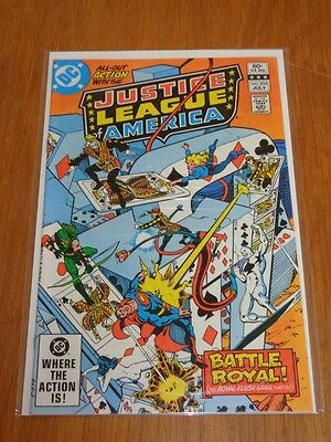 Justice League Of America #204 Dc Comics July 1982