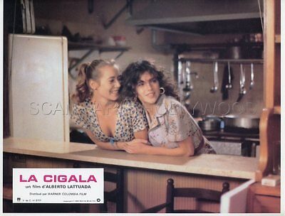Clio Goldsmith La Cigala 1979 Vintage Lobby Card