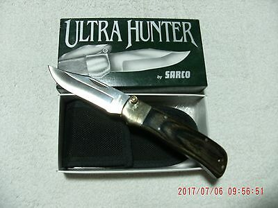"""ultra Hunter ""  Knife By Sarco New In Box"