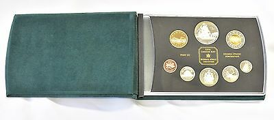 1774-1999 Canada RCM Silver 225th Ann of Perez Voyage Proof Set w/ Leather Case