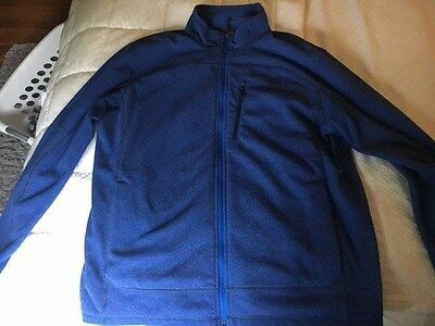 Men's Lightweight North Face Fleece Zip Up Jacket Coat Size XL!