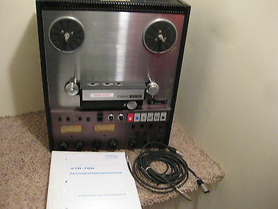 Ampex Atr-700 W/ Manual And Cables **professionally Serviced**