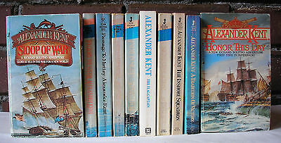 Richard Bolitho Series Lot 10 Alexander Kent Nautical Adventure Sailing Ships PB