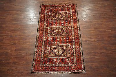 Antique 5X10 Lori Tribal Persian Gallery Runner Hand-Knotted Wool Area Rug