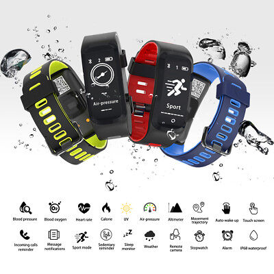 DT No.I G6 Bluetooth 4.0 Heart Rate Smartwatch Call Message Reminder Pedometer S