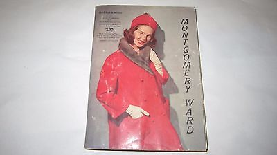 Vintage 1963 Montgomery Ward Fall & Winter  Department Store Catalog
