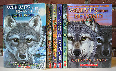 Complete Wolves of the Beyond Series Lot 6 Kathryn Lasky PB Kids Adventure