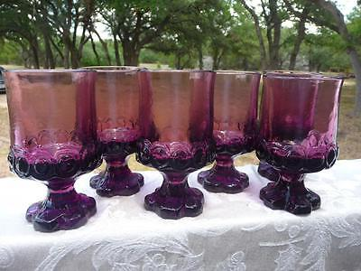6 Tiffin Franciscan Madeira Plum Amethyst Purple Juice/Wine