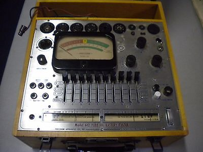 Precision Tube And Battery Tester Model 612
