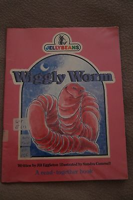 Wiggly Worm Jellybeans Series Book Read Togeth Children Book Large A4 Soft Cover