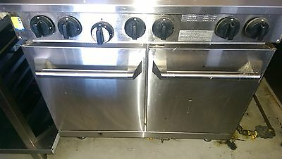 commercial natural gas oven and 6 burner hotplates
