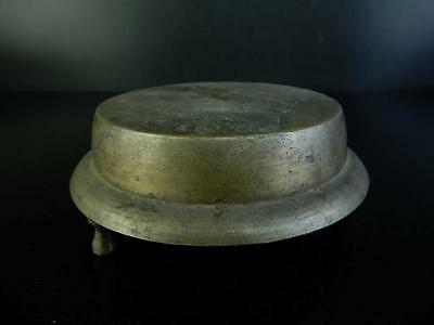 H3428: Japanese Old Copper BUDDHIST BELL Orin, Buddhist altar fittings