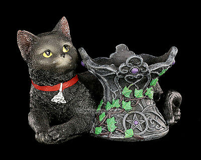 Witches Cats Fortune Teller Ball Holder Cosmo Gothic Fantasy Ritual Magic Wicca