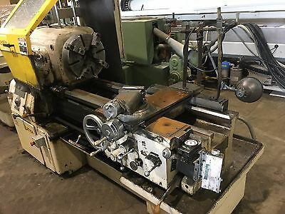 "Used 16X30/60 Monarch Engine Lathe 15"" 4-Jaw Chuck"