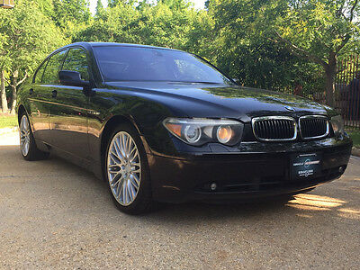 2004 BMW 7-Series Base Sedan 4-Door 760 v12 sport free shipping project cheap clean carfax luxury rare collector