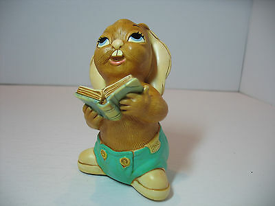 NEW Pendelfin  Solo the singer in turquoise  Figurine rabbit Bunny w/ Box