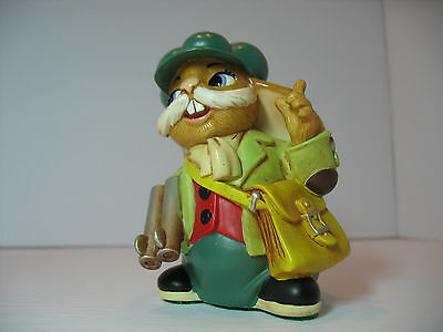NEW Pendelfin  Seth the hunter Figurine rabbit Bunny w/ Box