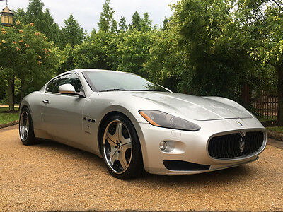 2008 Maserati Gran Turismo Base Coupe 2-Door low mile free shipping warranty luxury exotic touring cheap clean carfax finance