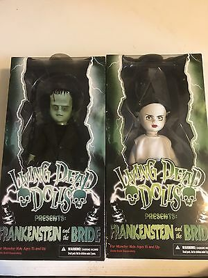 Living Dead Dolls Frankenstein And The Bride