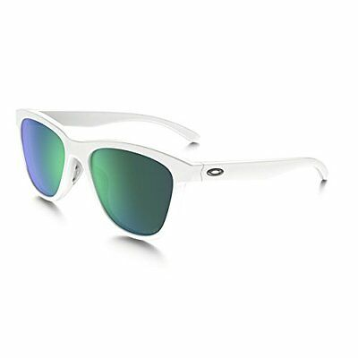 Authentic OAKLEY Moonlighter Polarized White Sunglasses OO9320-06 *NEW*