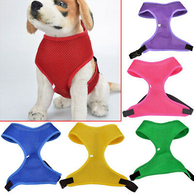 Popular New Pet Harness Strap Soft Mesh Dog Cat Adjustable Vest Safety