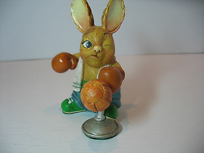 NEW Lewis the boxer training Pendelfin  Figurine rabbit Bunny w/ Box
