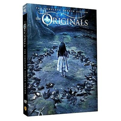 The Originals Season 4 Complete DVD New & Sealed UK Compatible