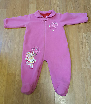 Girl's In The Night Garden Baby Sleep Suit Sleepsuit Age 6-9 Months Ex Condition