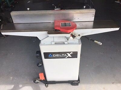 """Delta X5 Professional 6"""" Jointer 37-866X Great Condition Mobile base ship/local"""