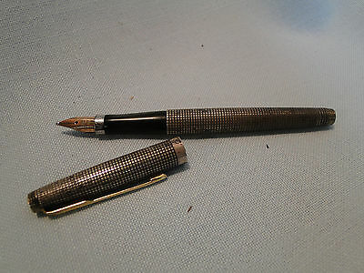 Sterling Cap and Barrell Parker Fountain Pen No Reserve