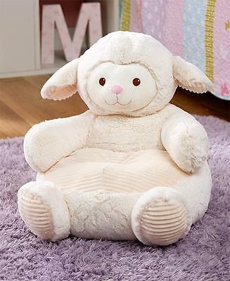 Toddler Chairs : Plush White Lamb Toddler Chair Toddler Bedroom Home Decor