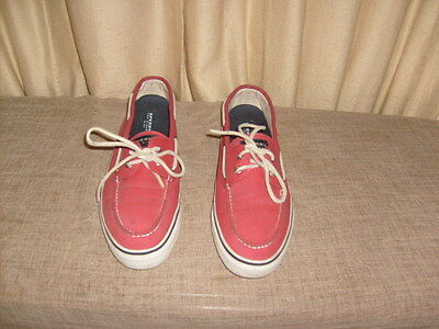 Men's red Sperry Top Sider Casual Shoes Size 12M