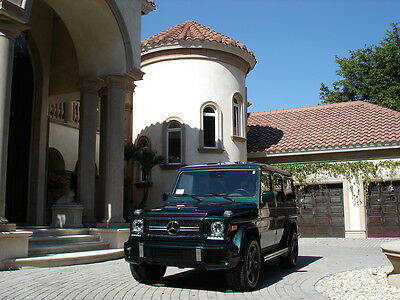 2002 Mercedes-Benz G-Class SUV FLORIDA, G63 CLONE, AMG RIMS, SIDEPIPES, LED, CARFAX CERTIFIED