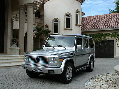 2002 Mercedes-Benz G-Class SUV FLORIDA, G500, ONE OWNER FROM NEW, CELEBRITY OWNED,4X4,